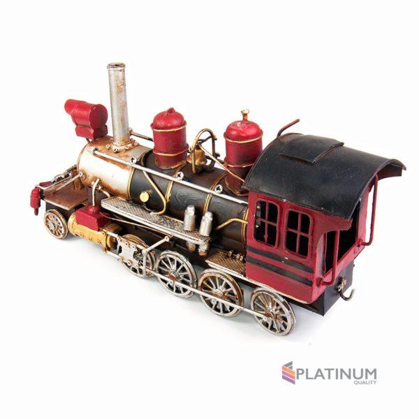 1104E-2324 Модель Ретро Паровоз красный