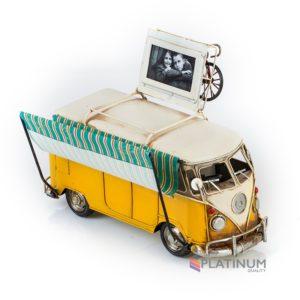 1404E-4333 Модель Ретро Автобус с фоторамкой