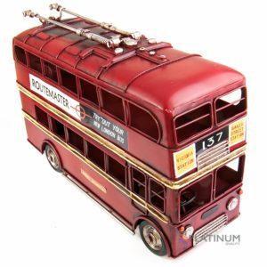 """1410E-4481 Модель Ретро """"Лондонский троллейбус"""" красный"""