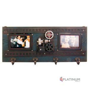 1510F-432 Ключница-панорамная фоторамка Кинопроектор