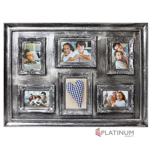 Фоторамка Platinum BIN-112133 S, серебристый