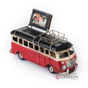 1404E-4239 Модель Ретро Автобус с фоторамкой